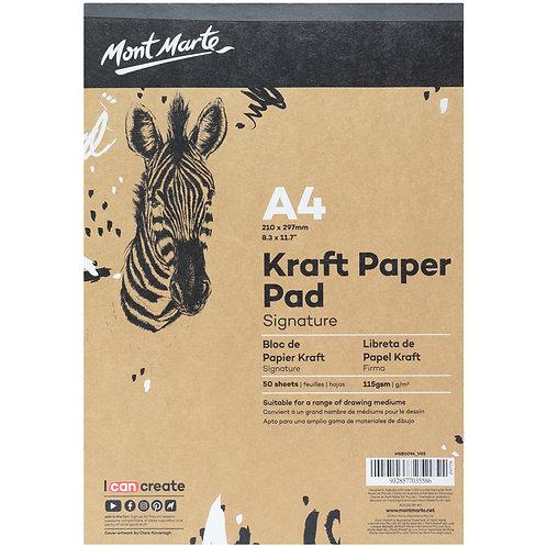 MM Kraft Paper Pad 50 Sheets