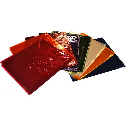 304687 RB Cellophane Craft packs 900mm x 1m Assorted