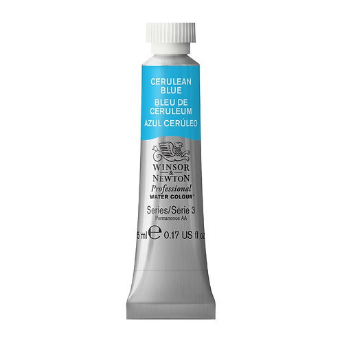 137 W&N Professional Water Colour - Cerulean Blue