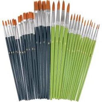 BR010 Bulk Taklon Brush Set