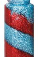 AA090 CS Glitter Spiral Glue (Pack of 6)