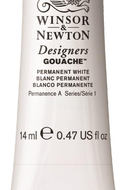 512 W&N Designers' Gouache 14ml - Permanent White