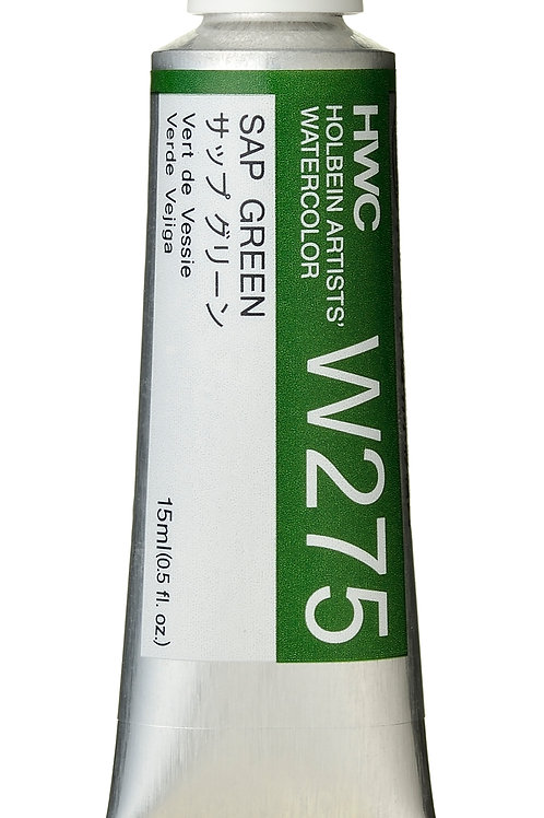W275 Holbein Artists' Watercolour 15ml - Sap Green