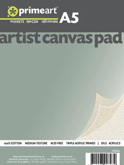 Prime Art Canvas Pads