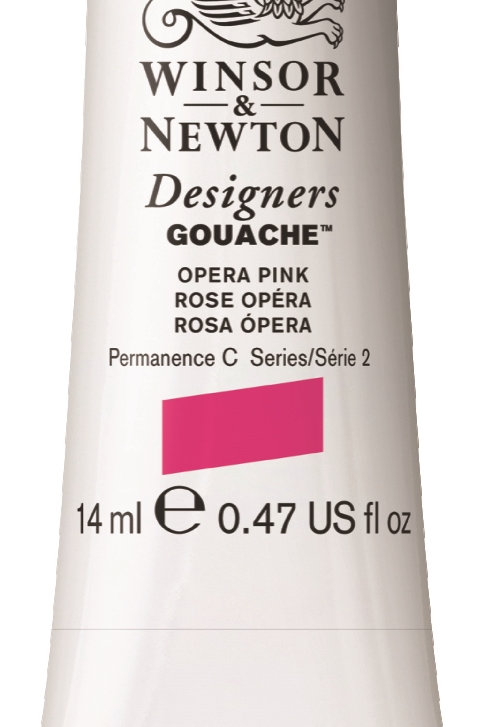 440 W&N Designers' Gouache 14ml - Opera Pink