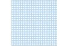 CRGIBLU Printed Club Roll Gingham Blue