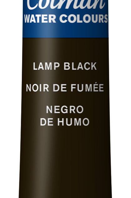 337 W&N Cotman Water Colour - Lamp Black
