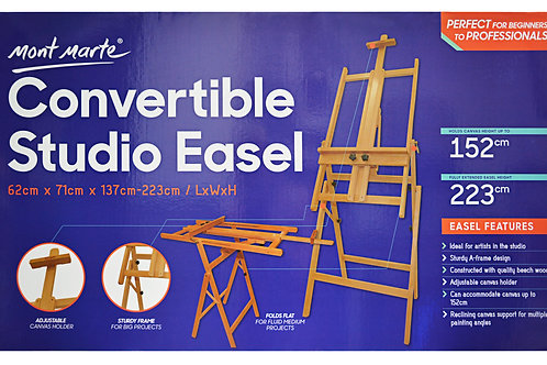 MEA0031 MM Convertible Studio Easel