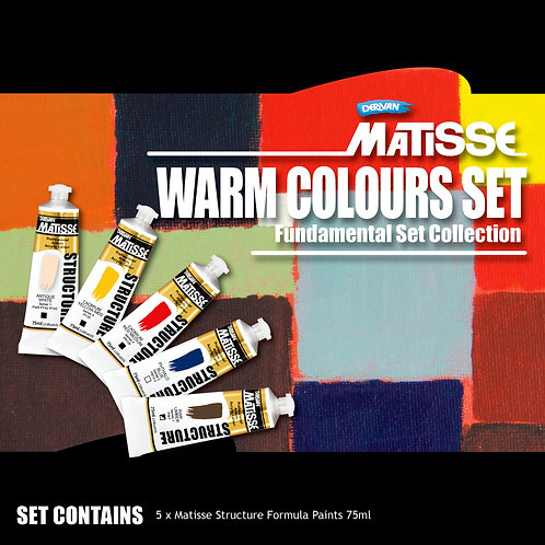 Matisse Structure Warm Colours Fundamental Set