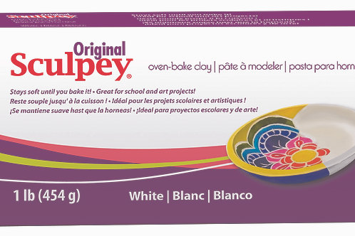 Original Sculpey - White