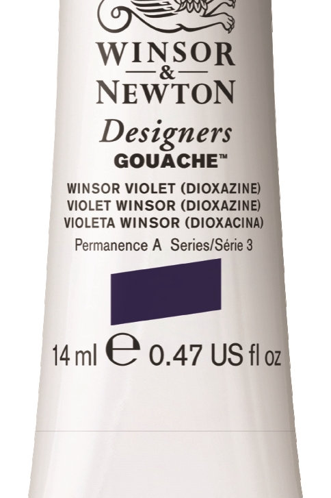 470 W&N Designers' Gouache 14ml - Winsor Violet