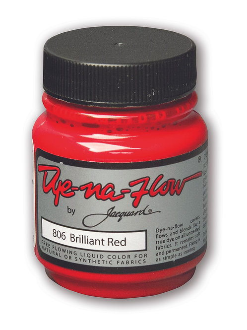 Jacquard Dye Na Flow 70ml - Brilliant Red
