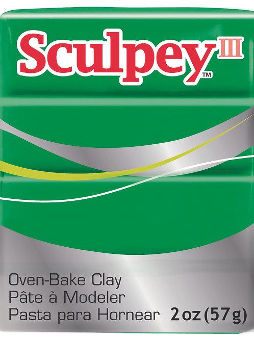 Sculpey III 57gm - Emerald
