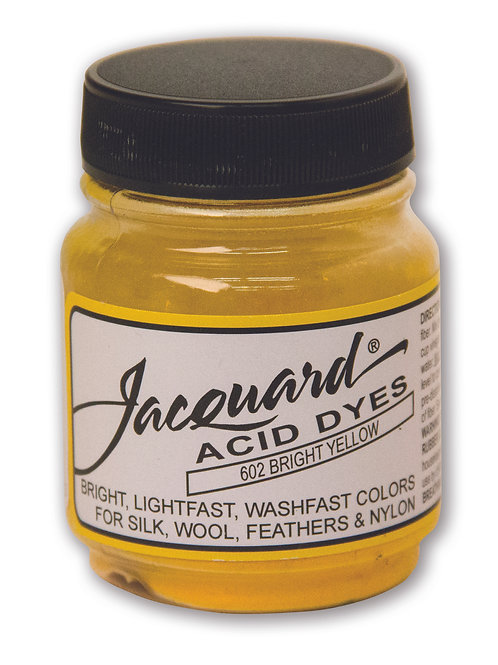 Jacquard Acid Dyes - Bright Yellow