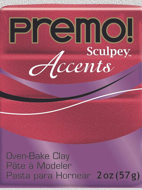 Premo Accents 57gm - Red Glitter