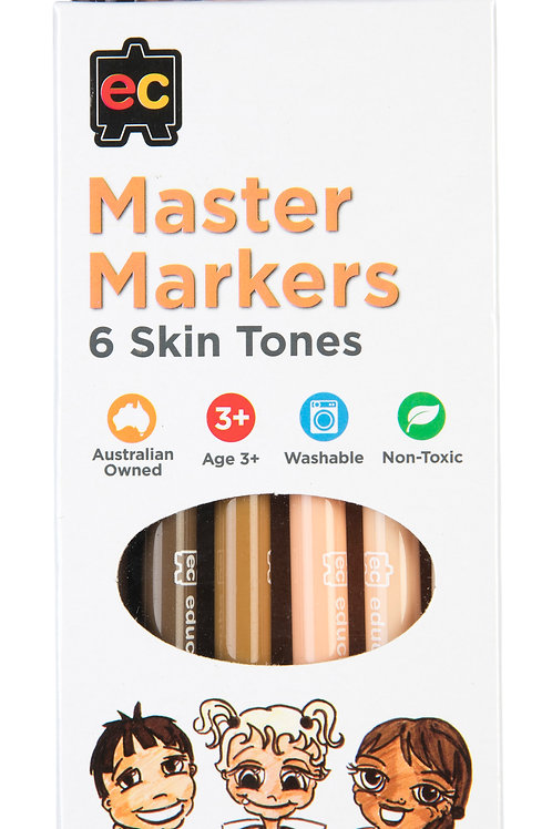 MSTM6 Master Skin Tone Markers (Pack of 6)