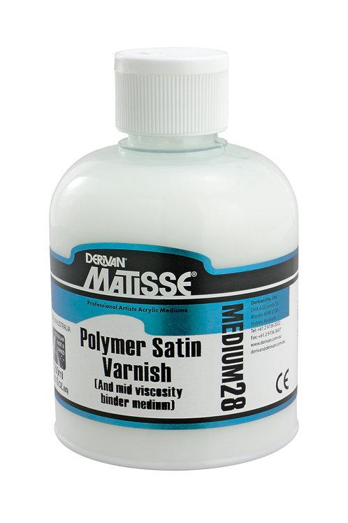 Matisse MM28 Polymer Satin Varnish