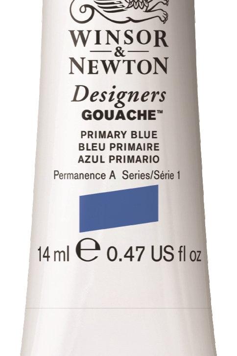 523 W&N Designers' Gouache 14ml - Primary Blue