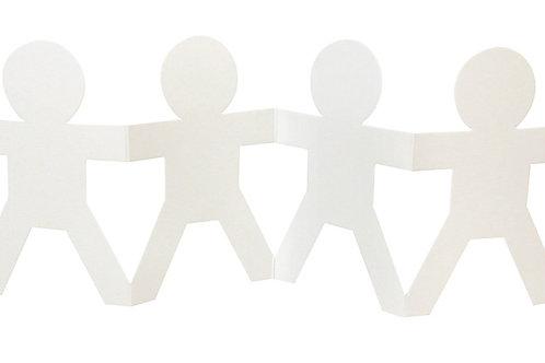CS Cardboard Fold-Up Dolls