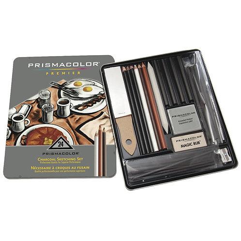 Prismacolor Charcoal Sketching Set