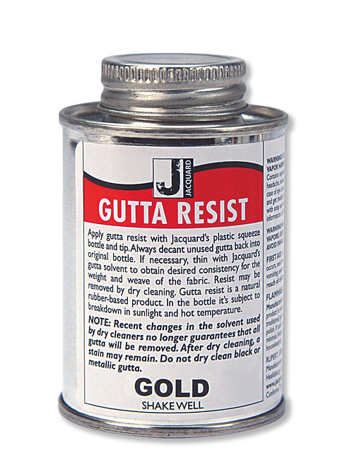Jacquard Gutta Resist - Gold