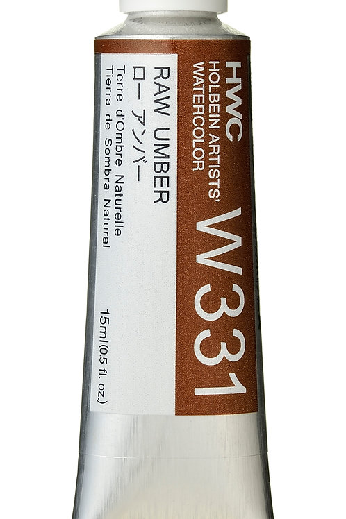 W331 Holbein Artists' Watercolour 15ml - Raw Umber
