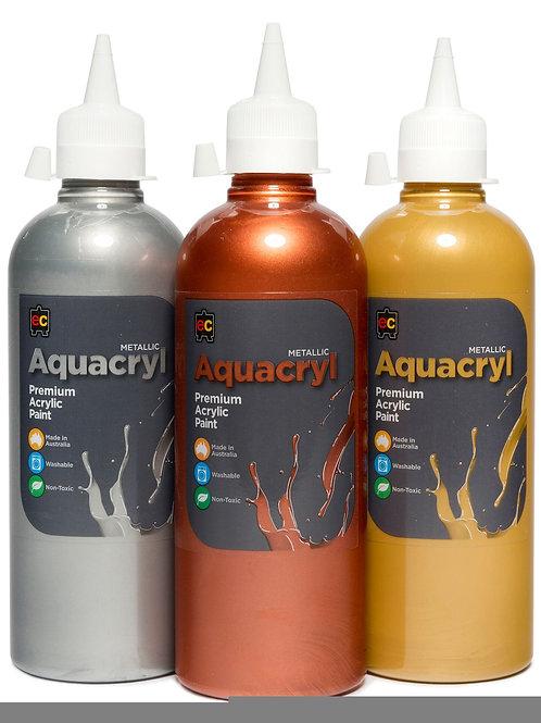 AC500 Aquacryl Metallic Premium Acrylic Paint