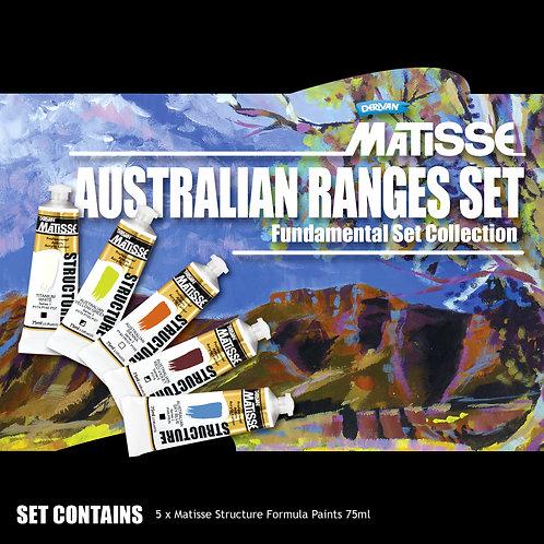 Matisse Structure Australian Ranges Fundamental Set