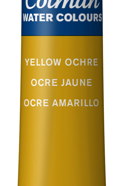 744 W&N Cotman Water Colour - Yellow Ochre