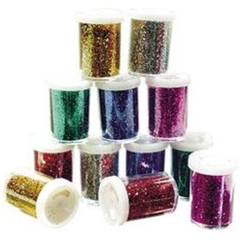 GL052 CS Glitter Pepper Shaker (Pack of 12)