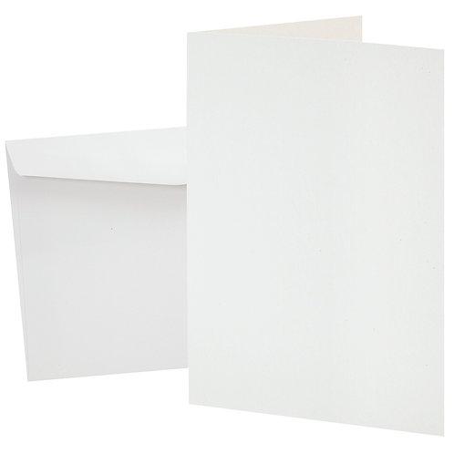 CS Cards & Envelopes - White