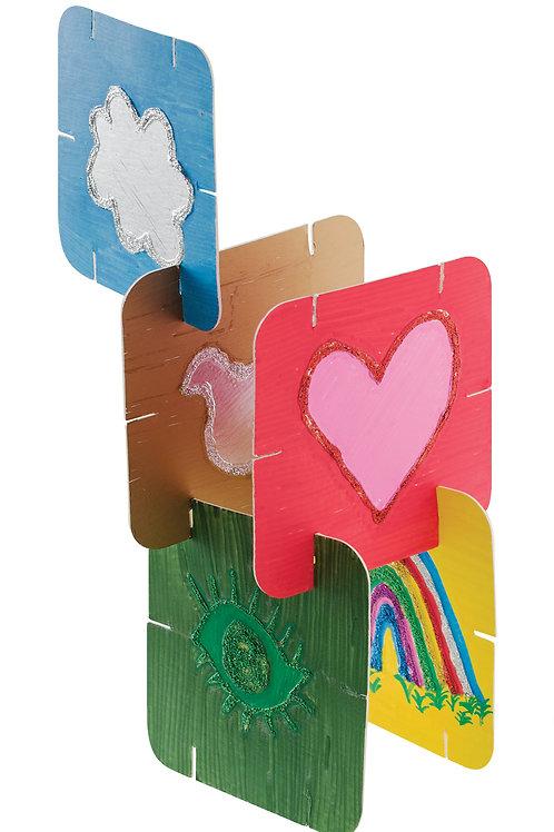CS Cardboard Construction Cards