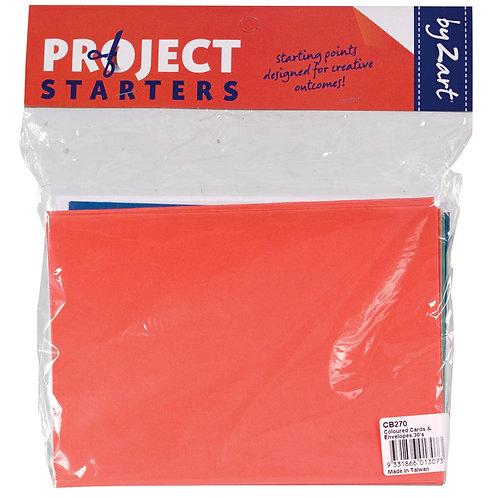 CS Cards & Envelopes - Coloured