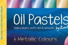 PS045 CS Basics large Oil Pastels - Metallic