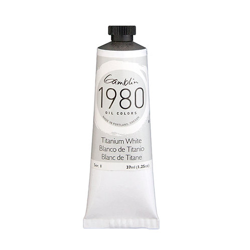 Gamblin 1980 Oil Colour - Titanium White