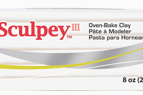 Sculpey III 227gm - White