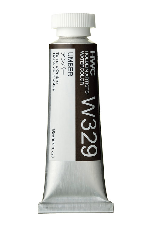 W329 Holbein Artists' Watercolour 15ml - Umber