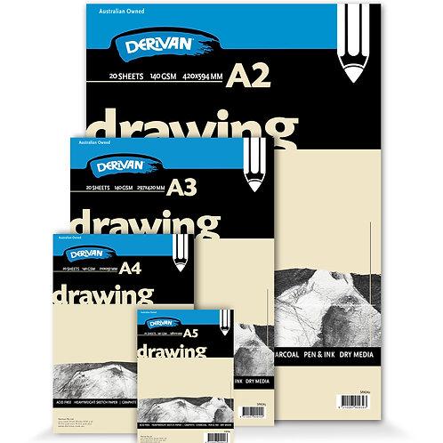 Derivan Drawing Pad White