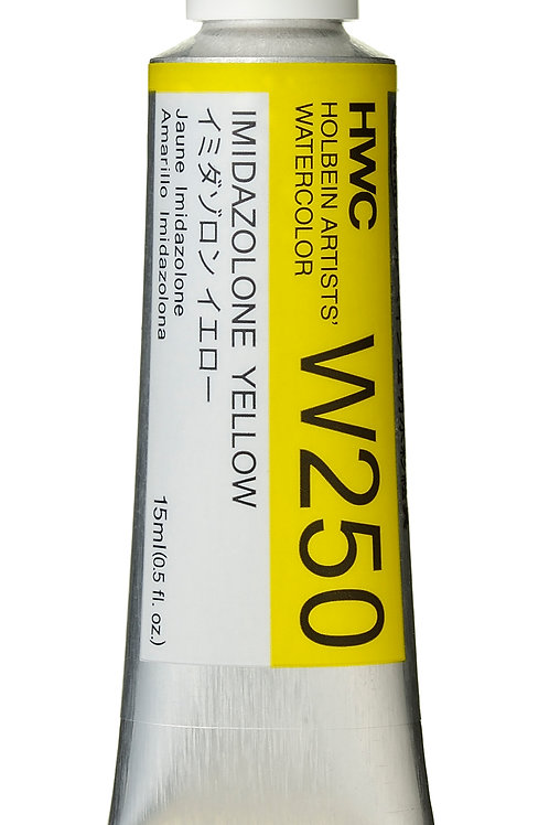 W250 Holbein Artists' Watercolour 15ml - Imidazolone Yellow
