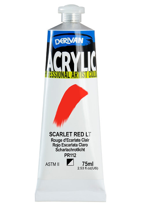 Derivan Acrylic - Scarlet Red Light