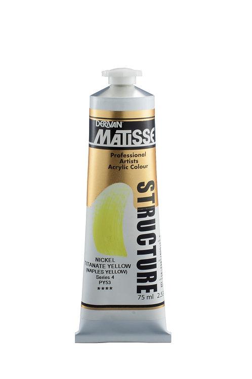 Matisse Structure Formula NIckel Titanate Yellow