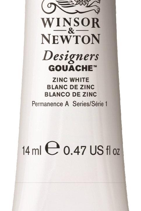 748 W&N Designers' Gouache 14ml - Zinc White