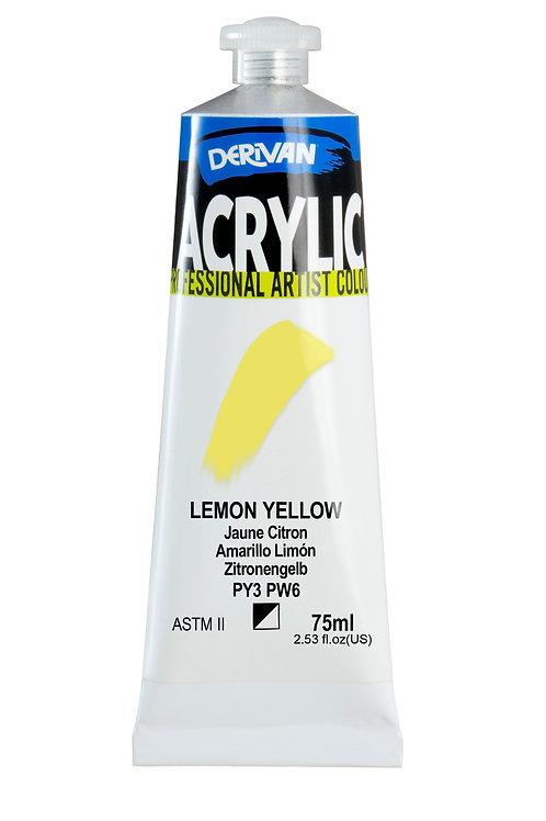 Derivan Acrylic -Lemon Yellow