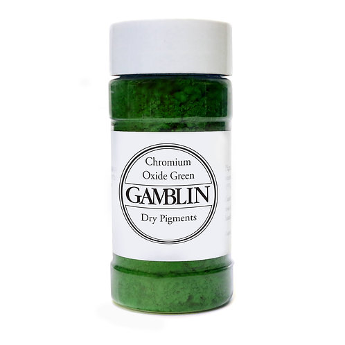Gamblin Dry Pigments - Chromium Oxide Green
