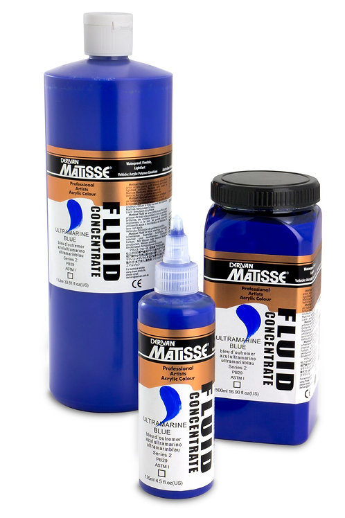 Matisse Fluid Concentrate - Ultra Blue