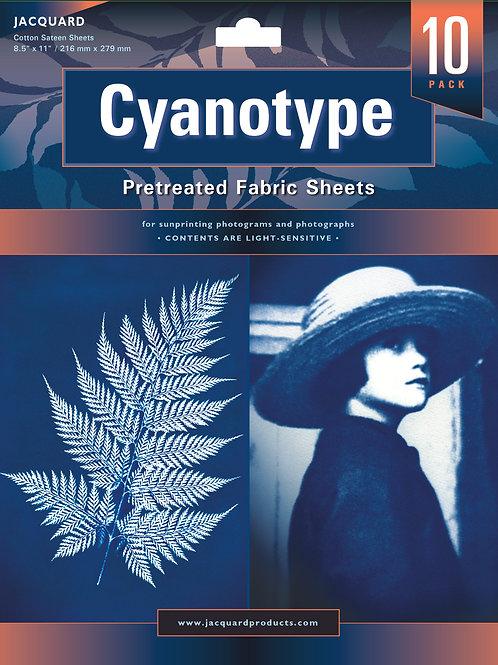 Jacquard Cyanotype Fabric Packs