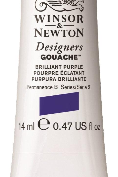 733 - W&N Designers' Gouache 14ml - Brilliant Purple