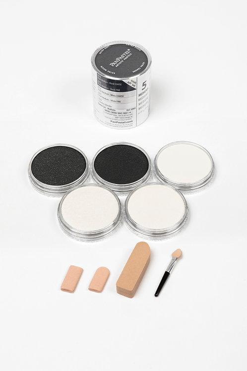 PanPastel Mediums - 5 Colour Starter Set