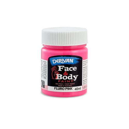 Derivan Face Paint - Fluro Pink