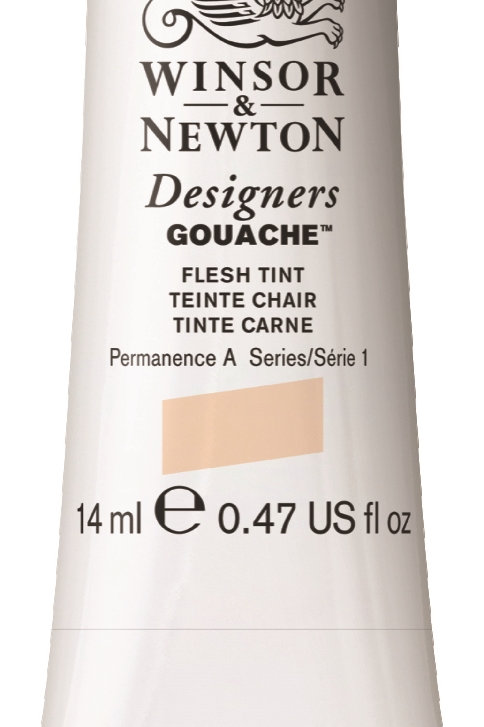 257 W&N Designers' Gouache 14ml - Flesh Tint